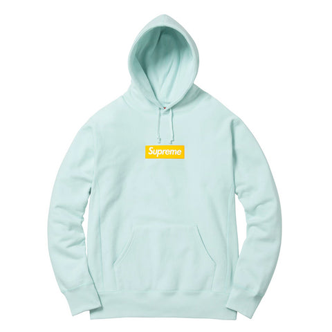 Supreme Box Logo Hooded Sweatshirt (FW17) Blue