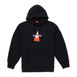 Supreme Cone Hooded Sweatshirt Black