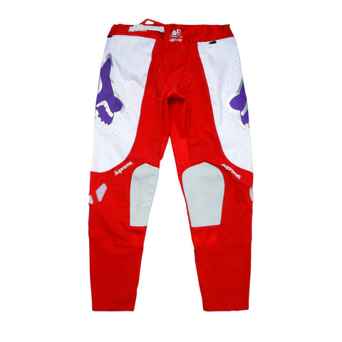 Supreme Fox Racing Moto Pant Red