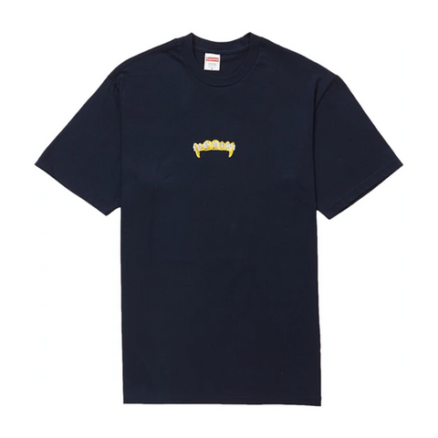 Supreme Fronts Tee Navy