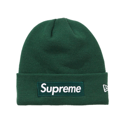 Supreme New Era Box Logo Beanie (FW18) Dark Green