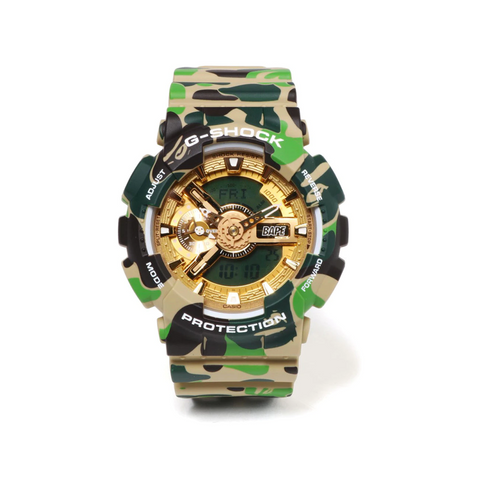 Casio G-Shock x BAPE Limited Edition GA-110