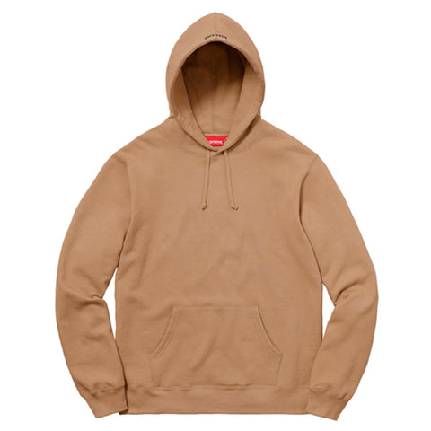 Supreme Illegal Business Hooded Sweatshirt Light Brown