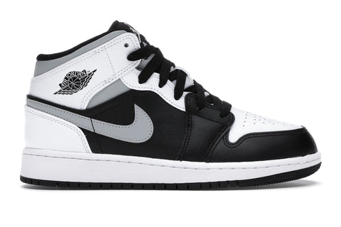 Air Jordan 1 Mid White Shadow (GS)