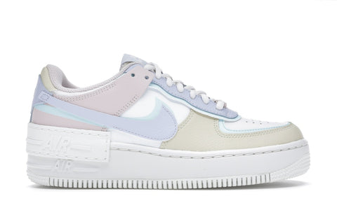 Nike Air Force 1 Shadow White Glacier Blue Ghost (Women)