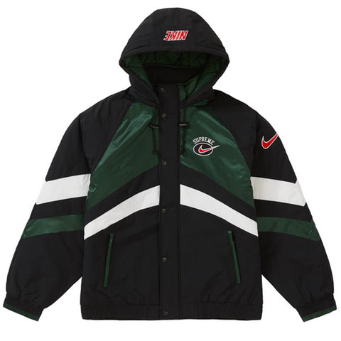 Supreme Nike Hooded Sport Jacket Green