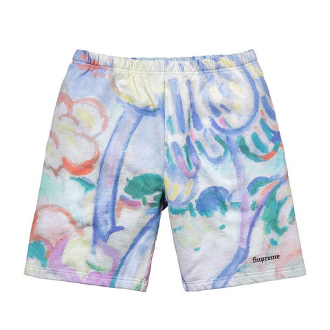 Supreme Landscape Sweatshort Multicolor