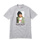 Supreme Nas Tee heather grey
