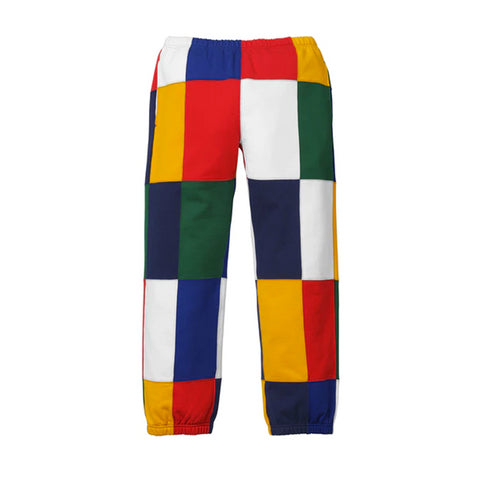 Supreme Patchwork Sweatpant Navy