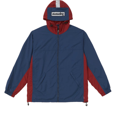 Supreme 2-Tone Zip Up Jacket Navy