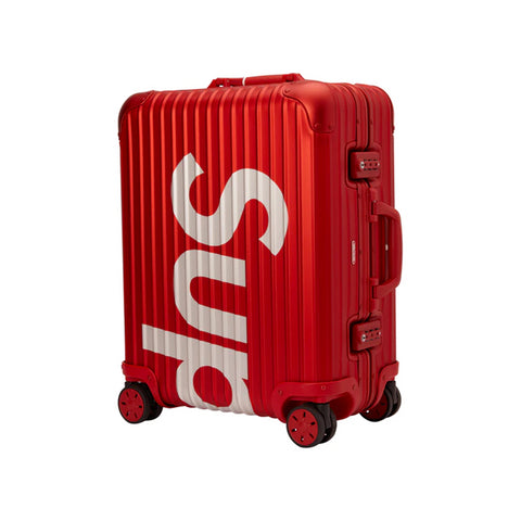 Supreme RIMOWA Topas Multiwheel 45L Red