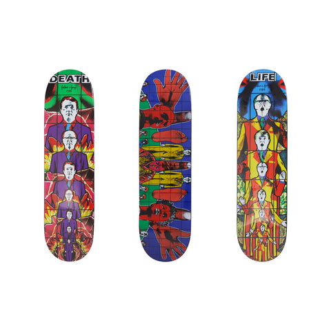 Supreme Gilbert & George DEATH AFTER LIFE Skateboard Set