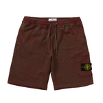 Supreme Stone Island Sweatshort Red