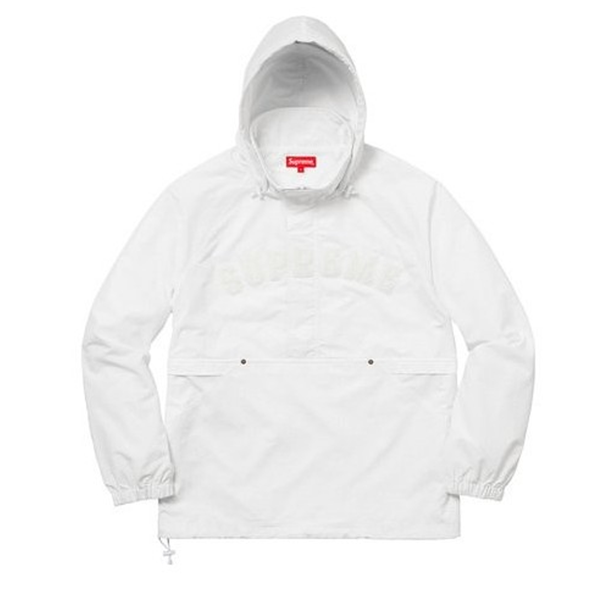 0621c796c1 Supreme Court Half Zip Pullover White – afterdrop
