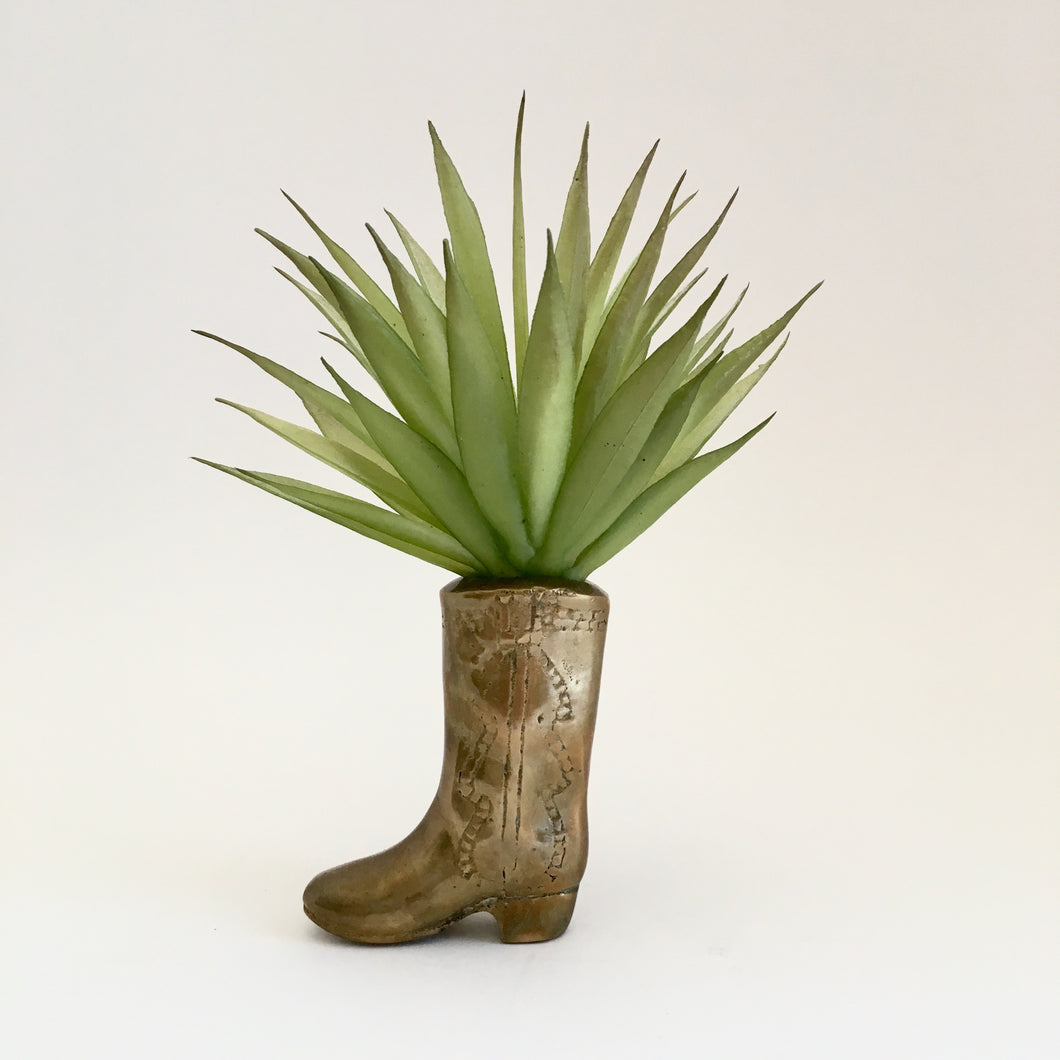 VINTAGE BRASS BOOT