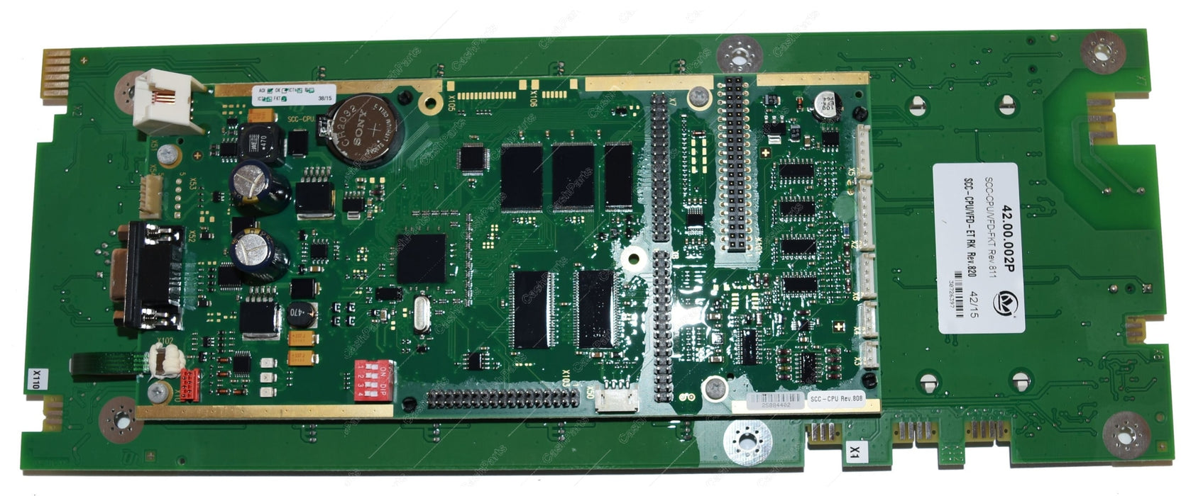 42.00.002P Control pcb SCC line SCC 61-202 As of 04/04 replaces 42.00.002 RATIONAL