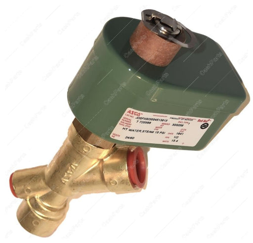 Asc016 1/2In Steam Solenoid Valve 24V No PLUMBING