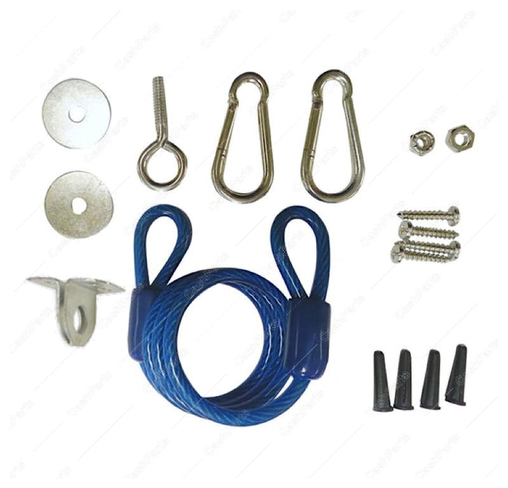 Dor011 Restraining Cable Kit 48In Gas