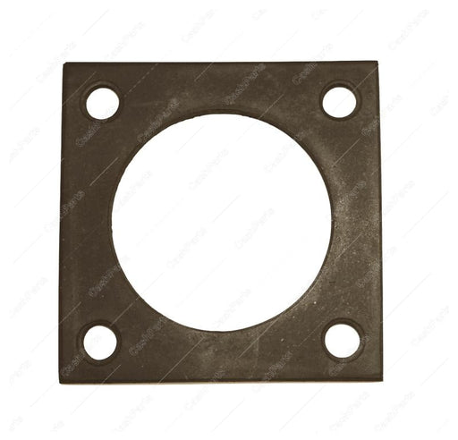 Gsk114 Square Flange Gasket 3In X 3In Rubber 2-3/8In Mount Centers GASKET REFRIGERATION