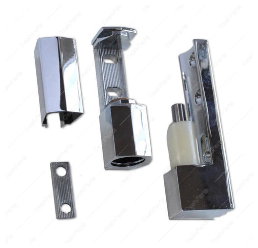 Hrdwr178 Edgemount Hinge Polished Chrome HARDWARE