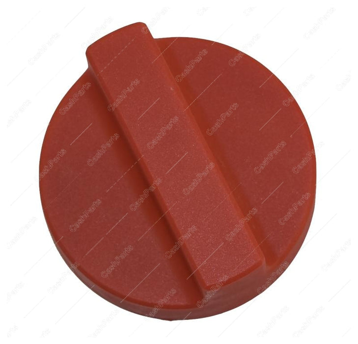 Kn006 Red Plastic Knob Knobs Type