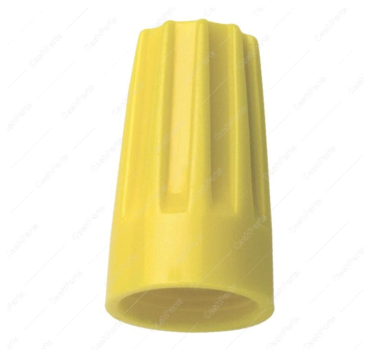 Mlx022 Pack Of 100 Yellow Plastic Wire Nuts