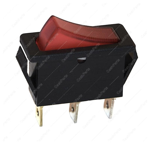 Sw026 Red Lighted Rocker 16A 250V Spst Electrical Switches