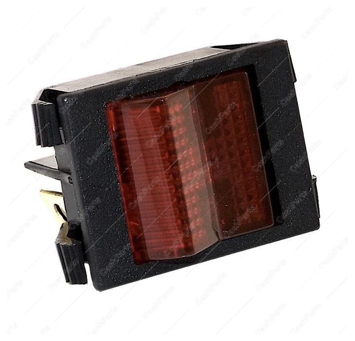 Sw039 Red Lighted Rocker 16A 250V 20A 125V Spst Electrical Switches
