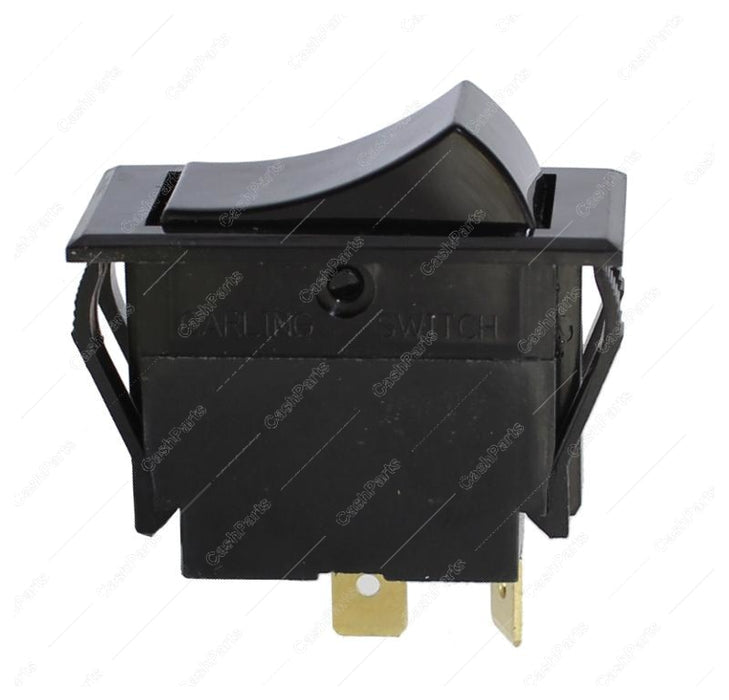 Sw230 Black Plastic Rocker Switch 20A 250V Spst Electrical Switches