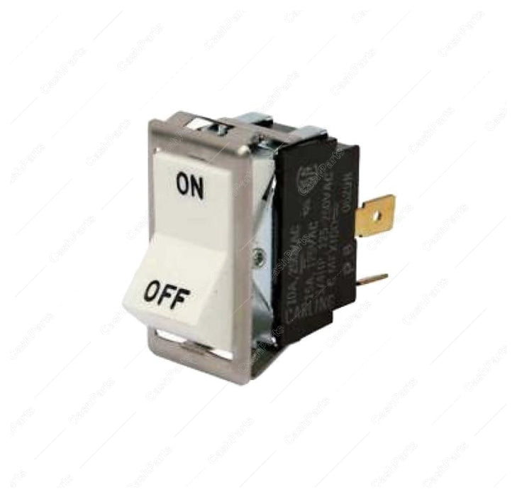 Sw232 On Off White Light Switch For 115V Units Electrical Switches
