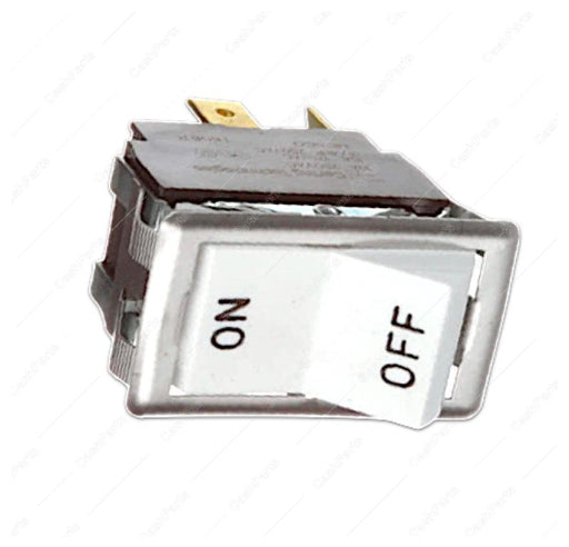 Sw245 Black & White On/Off Rocker Switch 15A 125V 10A 250V Dpst Electrical Switches