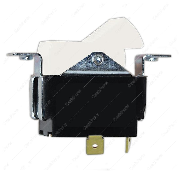 Sw247 Black & White Rocker Switch Dpst Electrical Switches