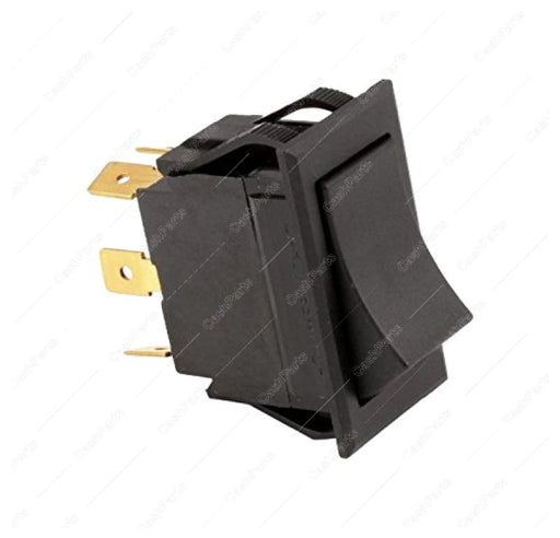 Sw253 Black Rocker Switch 15A 125-277V Dpdt Electrical Switches