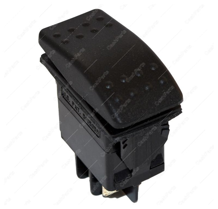 Sw264 Black Rocker 10A 250 Vac 15A 125 Vac Dpdt Electrical Switches