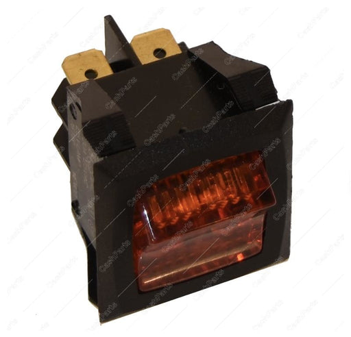 Sw272 Lighted Amber Rocker 125V Dpst Electrical Switches