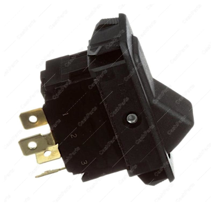 Sw279 Black Rocker 20A 125-277V Dpst Electrical Switches