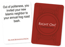 Combo Pack: RIGHT ON! GAME + I OFFEND STICKER & MAGNET