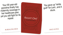Game: RIGHT ON! - The Conservative Party Game