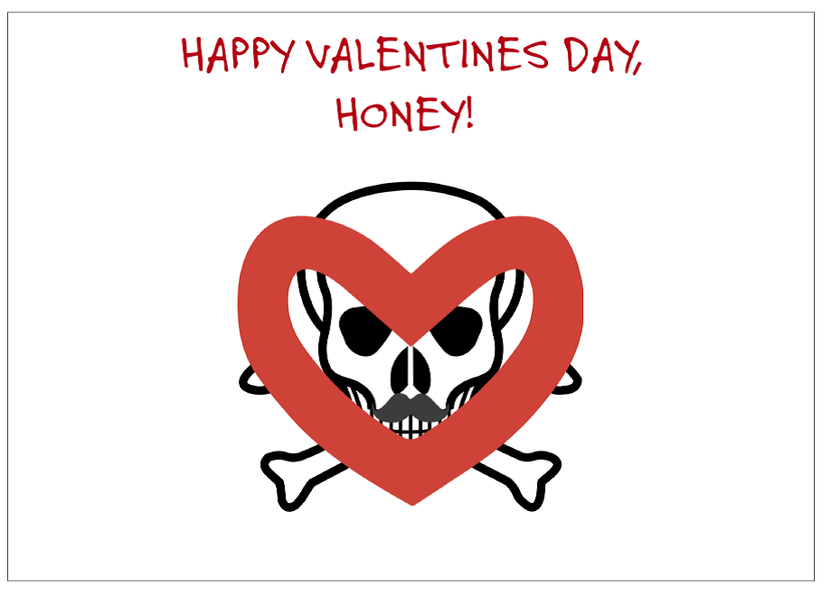 Greeting Card: Valentines Day-Your Masculinity is not Toxic