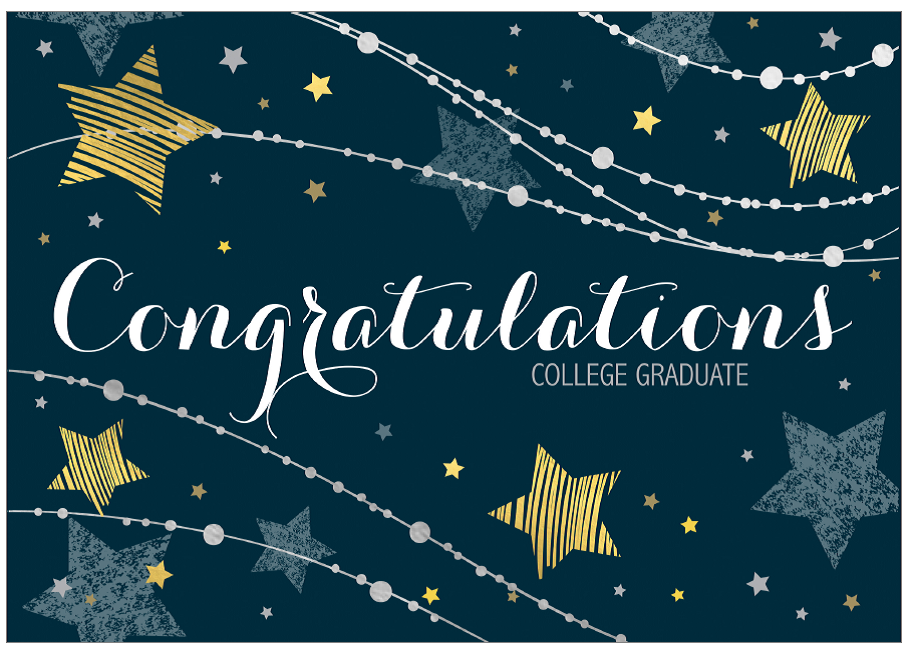 Greeting Card: Congratulations, College Graduate...You didn't cave to leftist b.s.