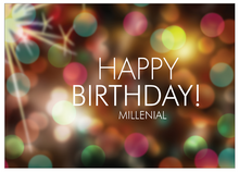 Greeting Card: Happy Birthday, Millenial