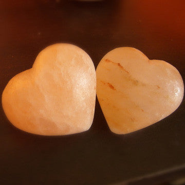 Heart Shaped Himalayan Salt Massage Stone