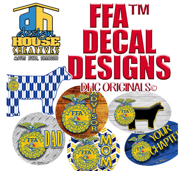 Officially Licensed FFA™ Stickers