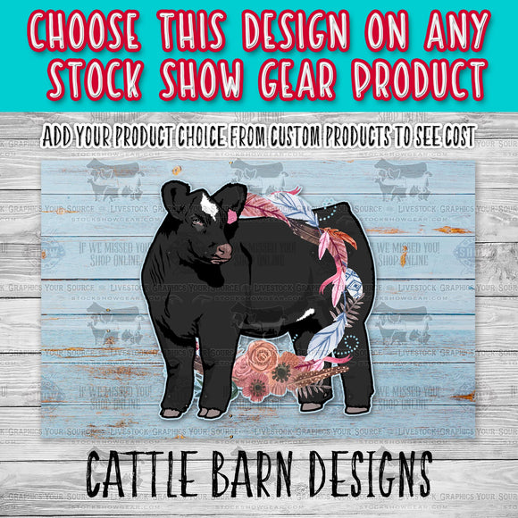 Cattle Barn Pre-Created Designs