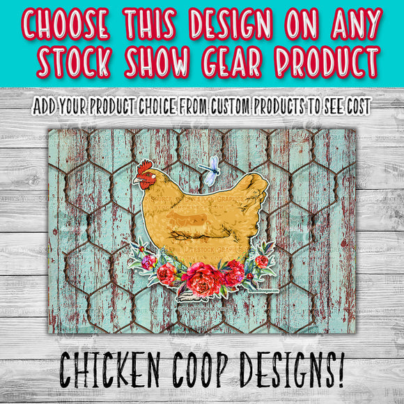 Chicken Coop Pre-Created Designs