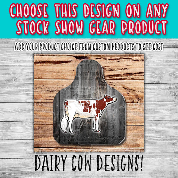 Dairy Cattle Pre-Created Designs