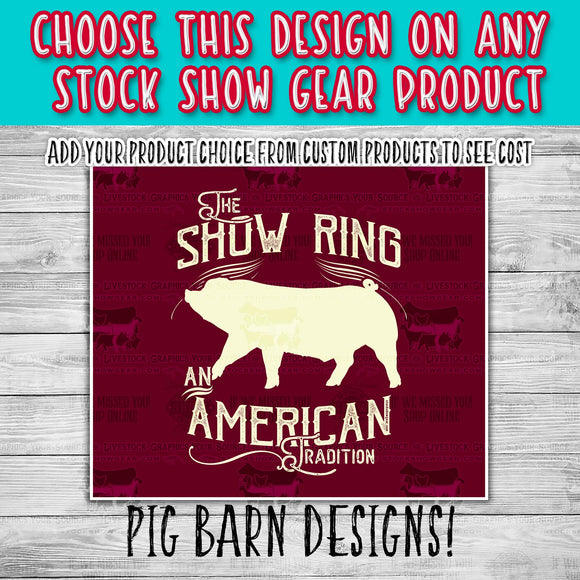 Pig Barn Pre-Created Designs