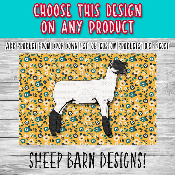 Sheep Barn Pre-Created Designs