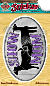 Show Mom Lamb Goat Rabbit Vinyl Sticker