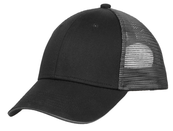 Hat/Patch Double Mesh Sandwich Bill Hat